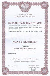 patent cp 198x300 Karty zbliżeniowe – producent CartPoland – o firmie