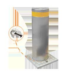 bollard-polautomatyczny-sprezyna